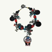 Monkey Tin Toy Necklace Lori Kirsch