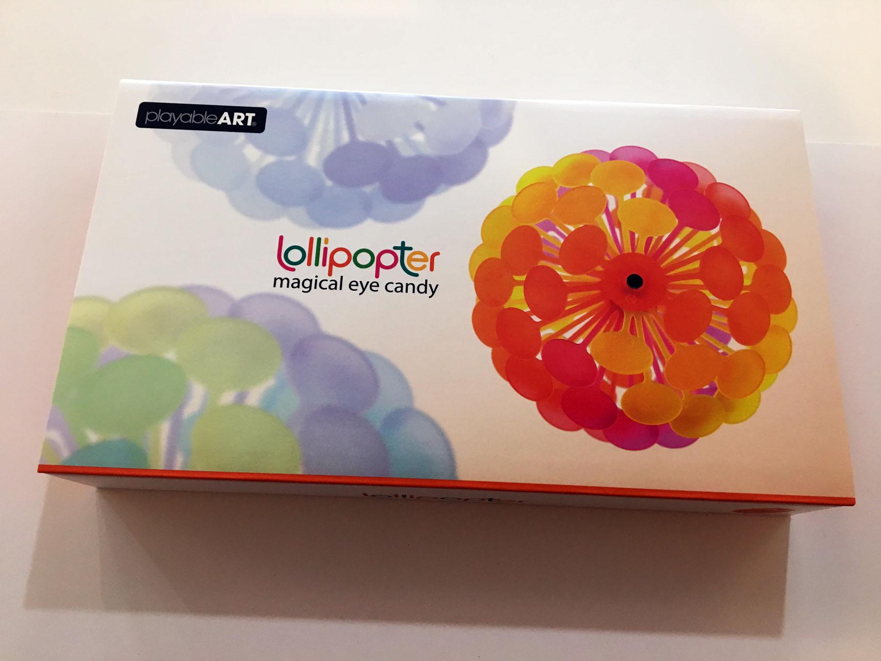 Lollipoter Mango inside box