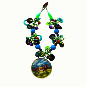 Lori Kirsch Pinball Sea Necklace