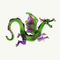 Mystical Green Dragon Ornament