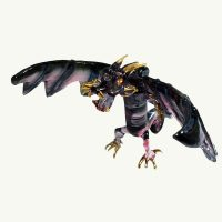 Mystical Purple Dragon Ornament