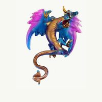Mystical Turquoise Dragon Ornament