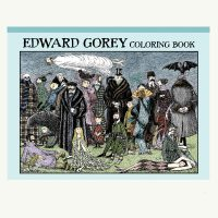 Edward Gorey Hardcover Coloring Book