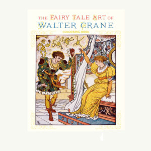 Fairy Tale Art of Walter Crane Coloring Book