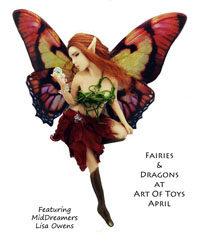 Fairies and Dragons at Art Of Toys April