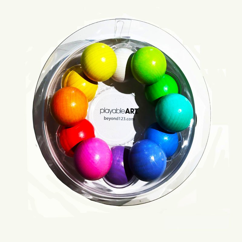 Pastel Playable Art Ball beyond 123