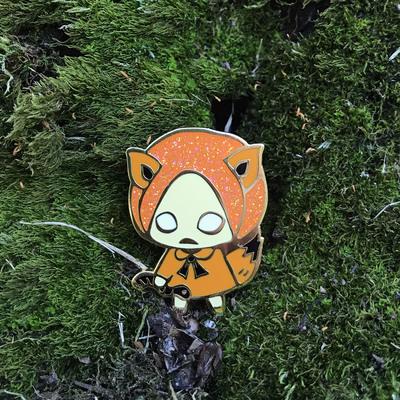 fox pin enamel