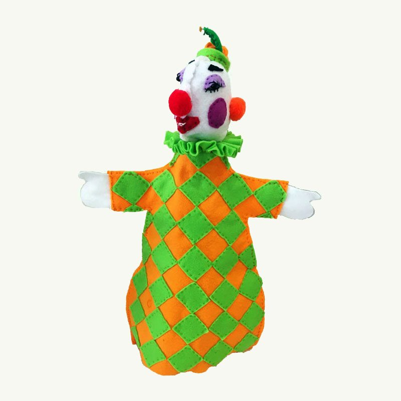 Clown Hand Puppet by Sis Punch and Judy Series