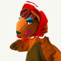Mama Bear Hand Puppet by Sis