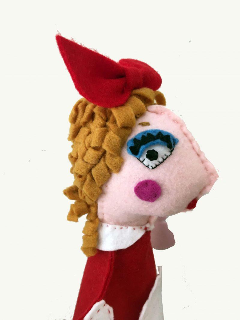 Goldilocks Hand Puppet by Sis