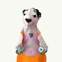 Circus Strong Man Hand Puppet by Sis