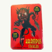 Krampus 105 Reusable Stickers Set