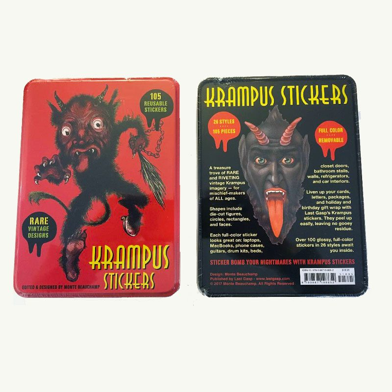 Krampus105 Reusable Stickers Set