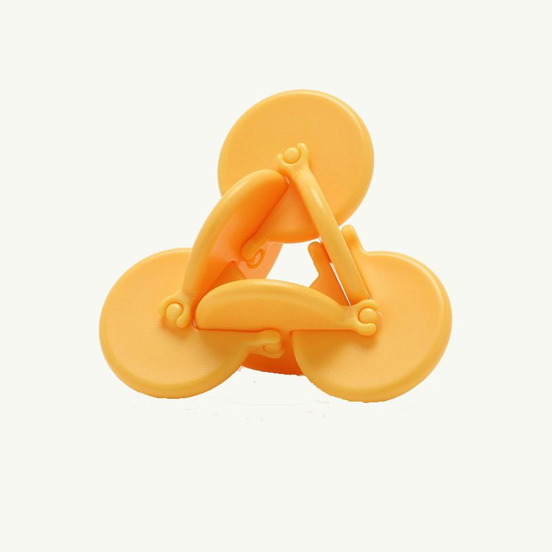 OSM kinetic playable stress toy yellow