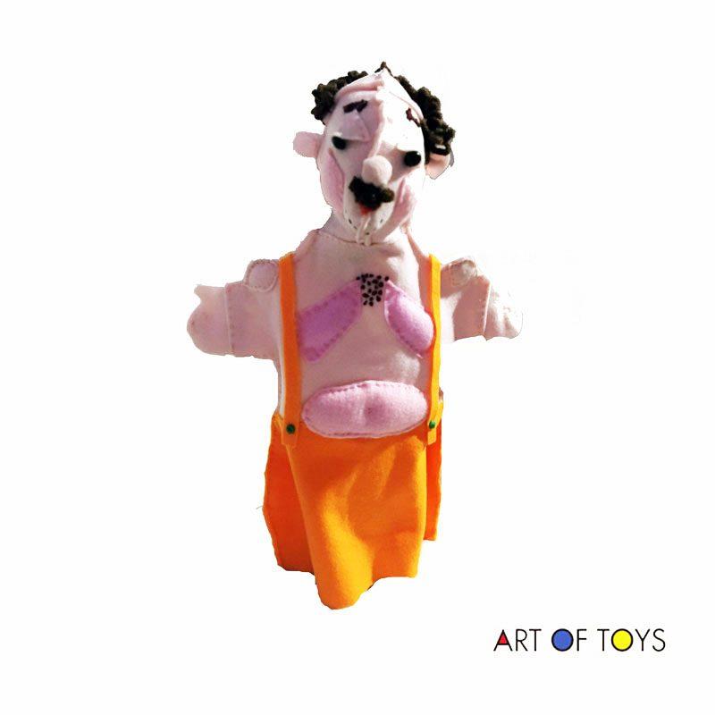 Strong Man Hand Puppet