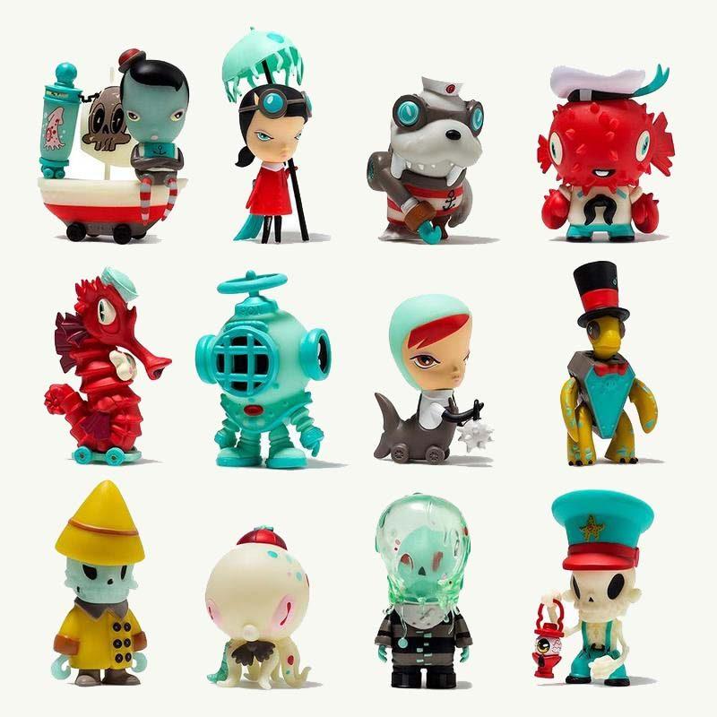 Kidrobot Dark Harbor Kathi Olivas Brandt Peters Designer Toys