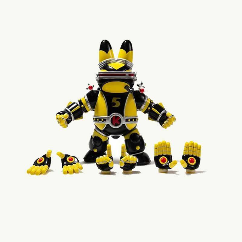 Labbiter XK-5 Robot by kidrobot
