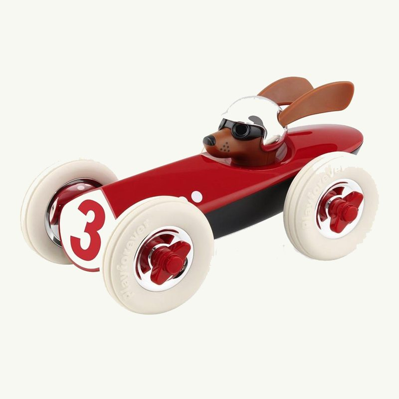 Rufus Patrick Playforever Red Race Car