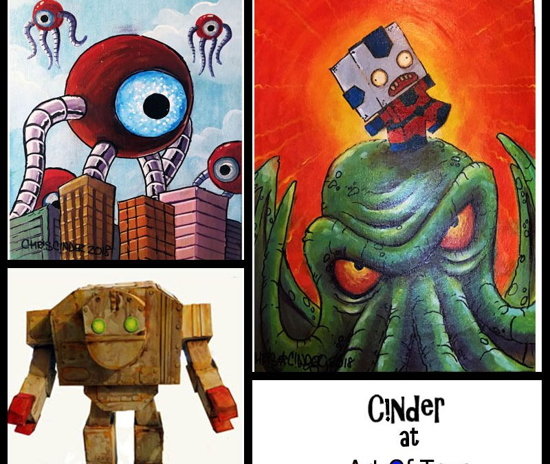 Artist Chris Cinder Interview