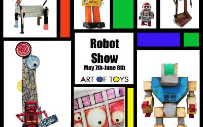 Robots featured at Art Of Toys