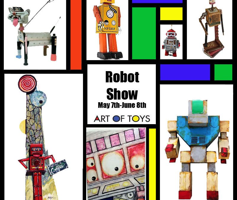 Robot Show at Art Of Toys