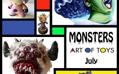 Monsters at Art Of Toys