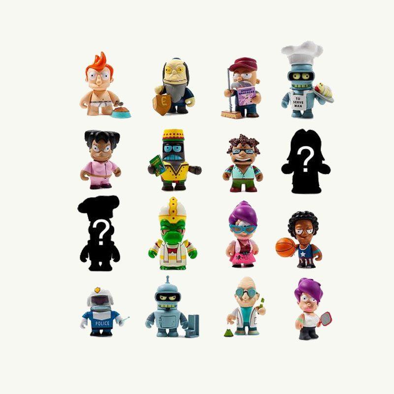 Good News Futurama kidrobot Blind Box Figures