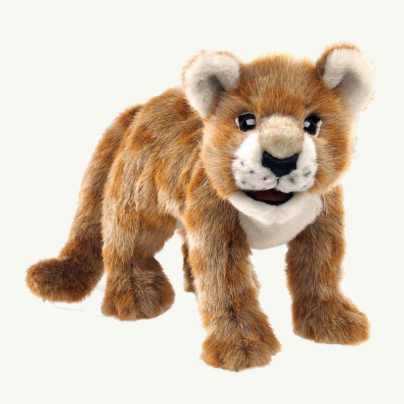 Lion Cub Folkmanis Handpuppet