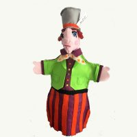 Alice In Wonderland Mad Hatter Handpuppet by Sis