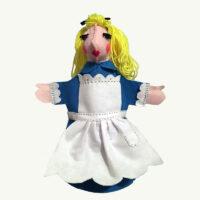 Alice in Wonderland Handpuppet by Sis