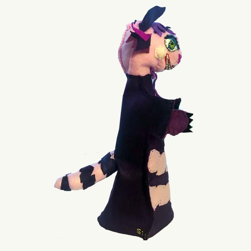 Cheshire Cat Handpuppet by Sis