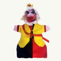 King Of Hearts Handpuppet by Sis