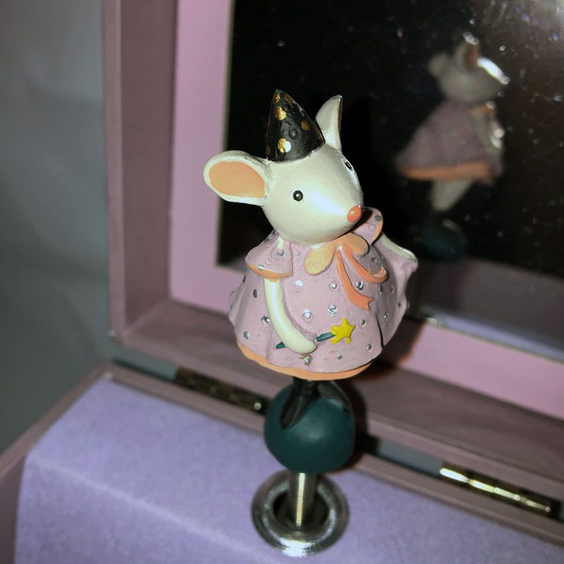 Moulin Roty Fairy Mouse Music Jewelry Box