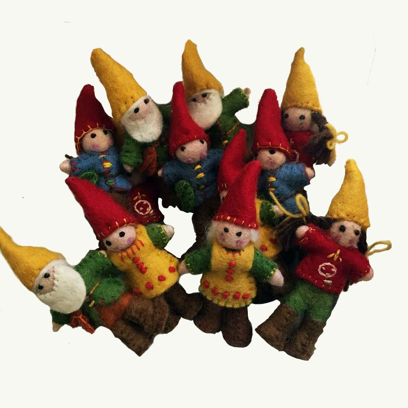 Gnomes Handcrafted Papoose Toys Nepal