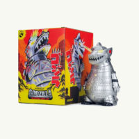 Mechagodzilla Art Figure By Kidrobot-Battle Ready Edition
