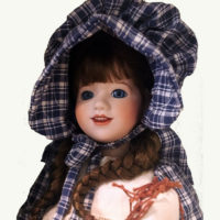 Laura Ingalls Art Doll by Wendy Lawton
