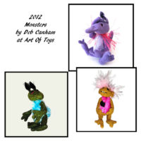 2012 Monsters by Deb Canham at Art Of Toys