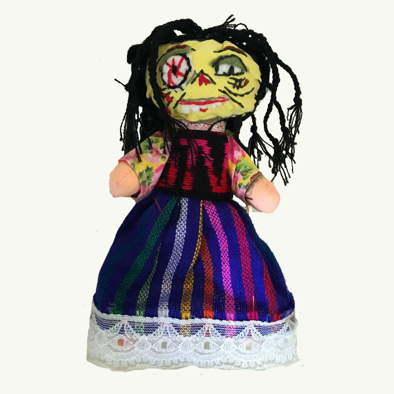 Zombie Girl Doll