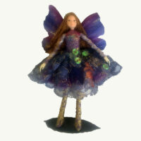 Fairy  Lavender Lace Quartz Doll Ornament