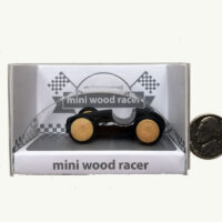 Mini Milaniwood Black Racer