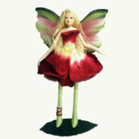 Rose Fairy Doll Ornament