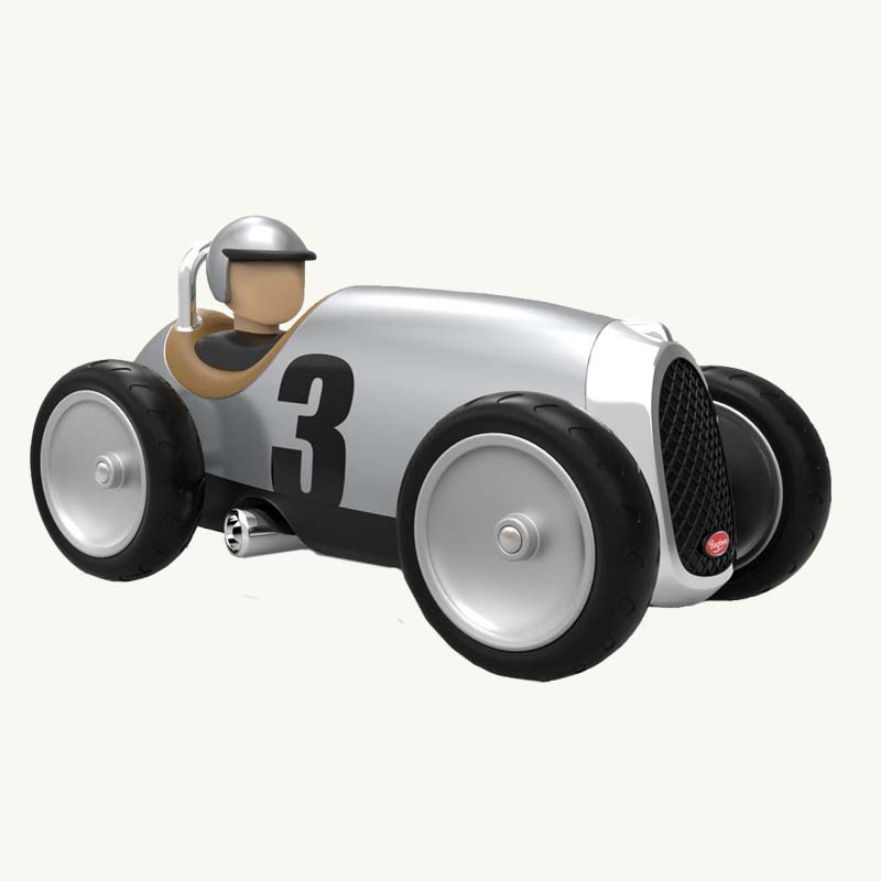 Baghera Silver Racing Car