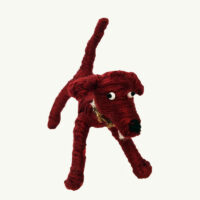 Brown Wool Dog by Mary Rowe