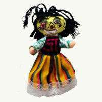 Zombie Mexican Girl Doll
