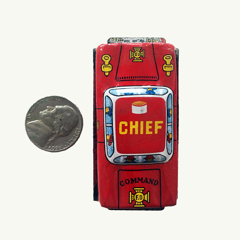Vintage Tin Mini Chief Car 1960's Japan