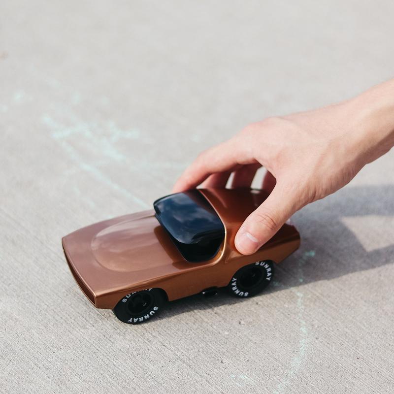 playforever race car gold