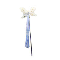 White Fairy Butterfly Wand