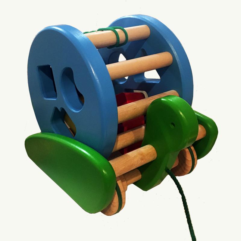 shape sorter pull toy