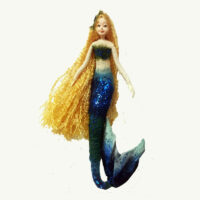 Mermaid Doll Ornament