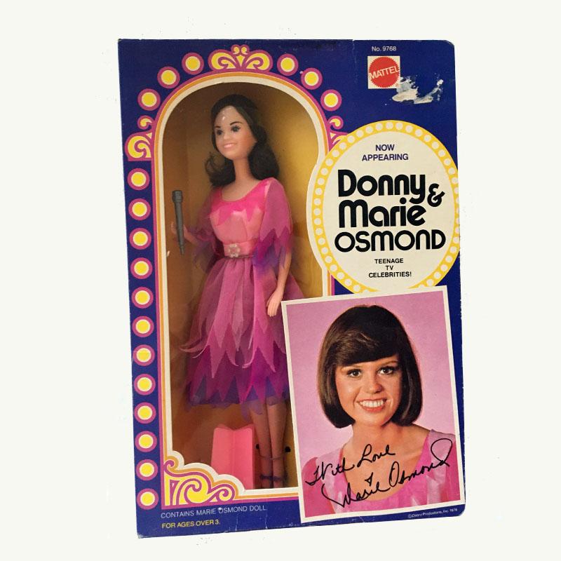 Marie Osmond Celebrity Doll by Mattel 1977